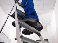 Arbeitssicherheit: Leitern und Tritte